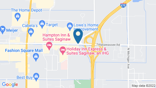 Country Inn & Suites by Radisson, Saginaw, MI Map