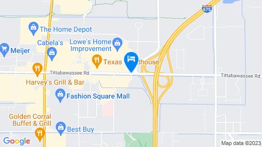 Country Inn & Suites by Radisson, Saginaw, MI Map