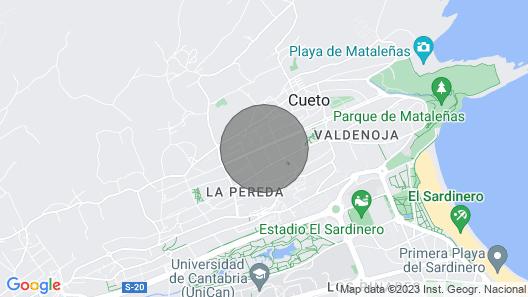 Bajo CON Jardin Cerca DE LA Playa Y EL Golf Map