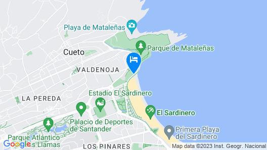 Hotel Chiqui Map