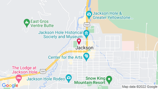 Four Winds Motel Map