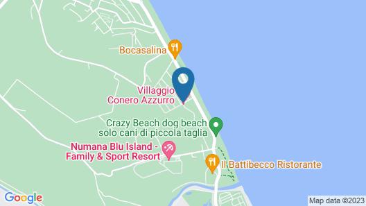 Conero Azzurro Map