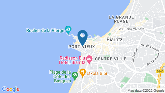 Itsasoa - Appartement face plage Map