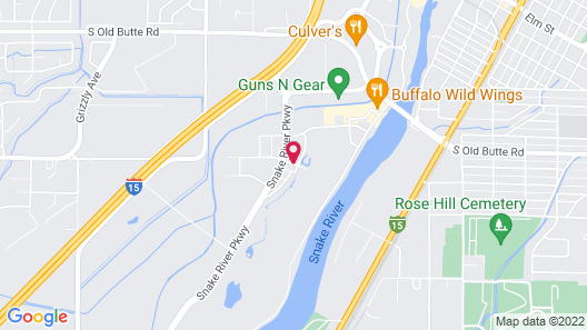 Home2 Suites by Hilton Idaho Falls Map