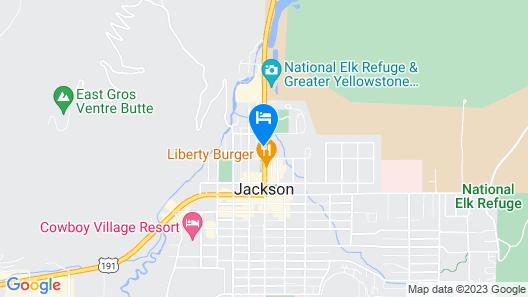 The Lexington at Jackson Hole Map