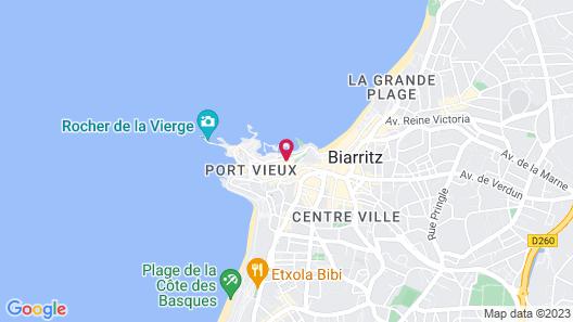 Hôtel de L'Océan Map