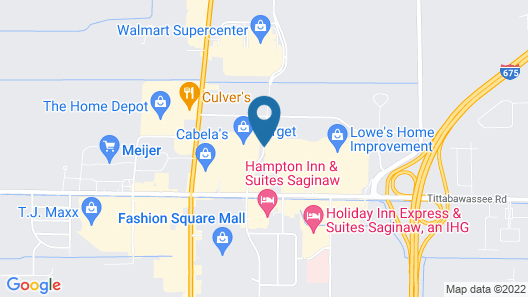 Residence Inn by Marriott Saginaw Map