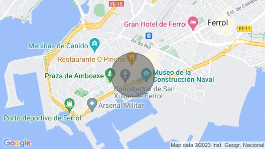 Piso Céntrico en Ferrol Map