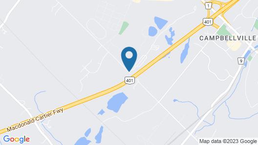 Toronto West KOA Map