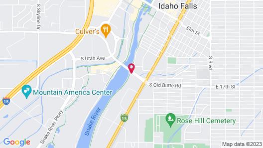 Candlewood Suites Idaho Falls, an IHG Hotel Map