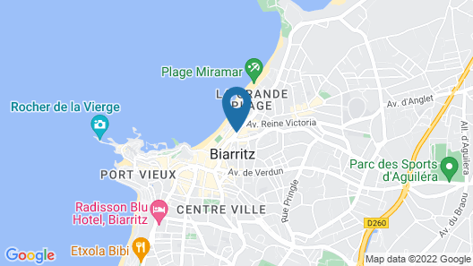 Résidence Victoria Surf Map