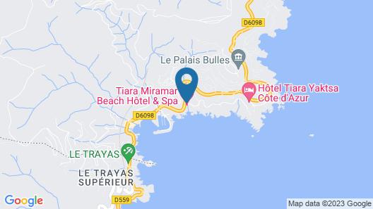 Tiara Miramar Beach Hotel & Spa Map