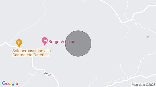 Il Poggetto a Vescinino, Radda in Chianti, Siena and Chianti Map