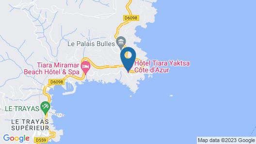 Tiara Yaktsa Côte d'Azur Map