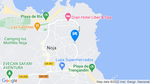 Apartment in Noja, Cantabria 103647 by MO Rentals Map