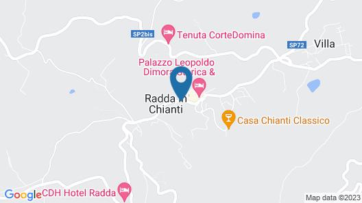 Relais Vignale & Spa Map