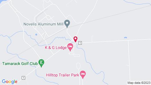 K&G Resort Map