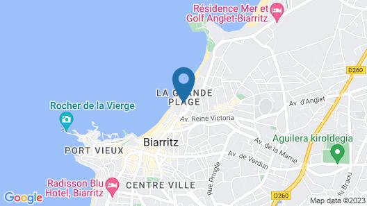 Hotel du Palais Biarritz In The Unbound Collection By Hyatt Map