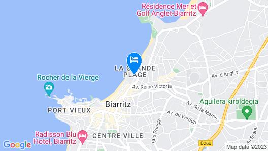 Hôtel du Palais Biarritz, in The Unbound Collection by Hyatt Map