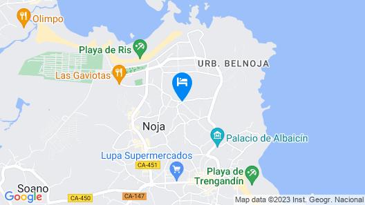 Posada Spa Privilegio de Vara Map