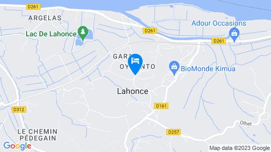 Adonis Hôtel Bayonne Map