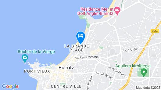 Sofitel Biarritz Le Miramar Thalassa Sea & Spa Map