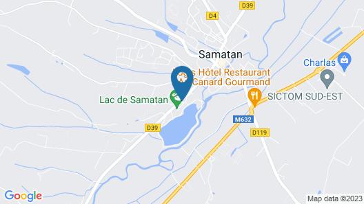 Village Club Miléade Samatan Map
