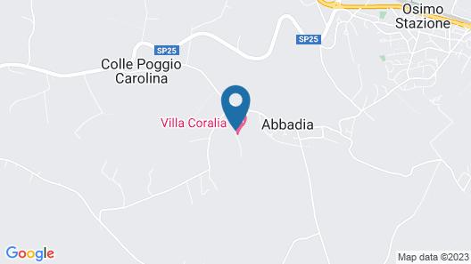 Villa Coralia Map