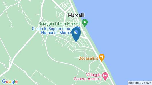 Residence Le Ali del Conero Map