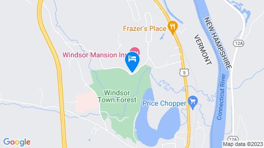 Windsor Mansion Inn Map