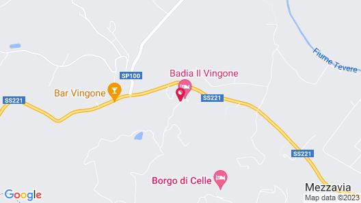 Badia Il Vingone Map