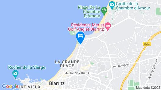 Le Regina Biarritz Hotel & Spa MGallery Map