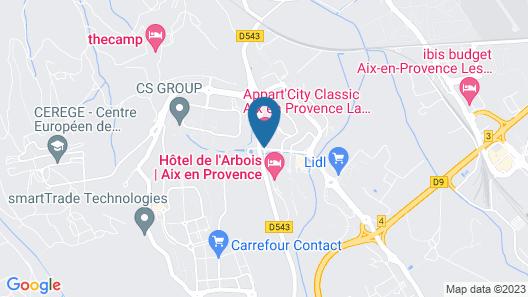 Appart'City Aix en Provence – La Duranne Map