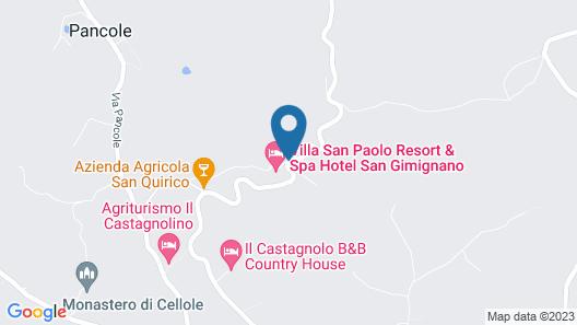 Villasanpaolo Map