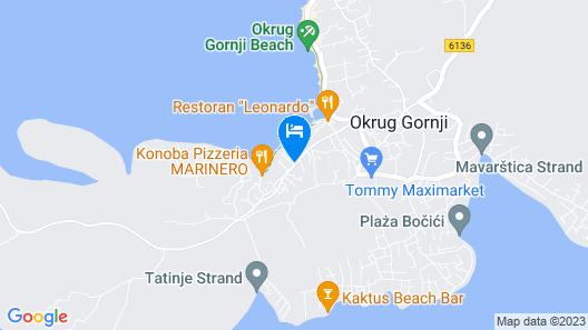 Villa Paula Map