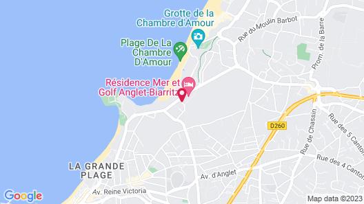 Résidence Mer & Golf Map