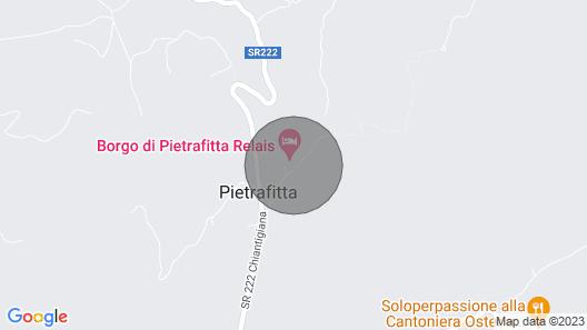Casale la Canonica, Castellina in Chianti, Siena and Chianti Map