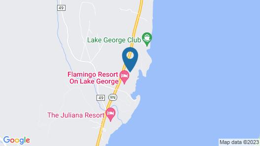 Treasure Cove Resort Motel Map