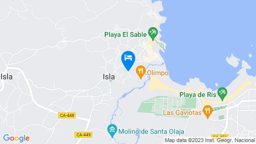 Hotel Olimpo Map