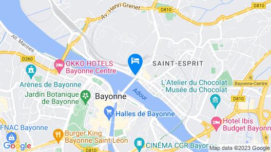 ibis Styles Bayonne Centre Gare Map