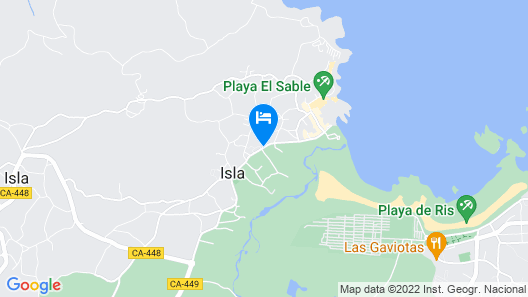 Hotel Isabel Map