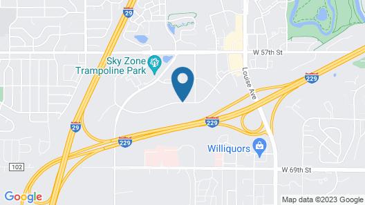 Staybridge Suites Sioux Falls Southwest Map