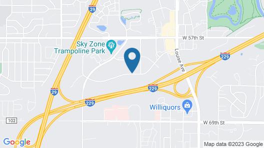 Staybridge Suites Sioux Falls Southwest, an IHG Hotel Map