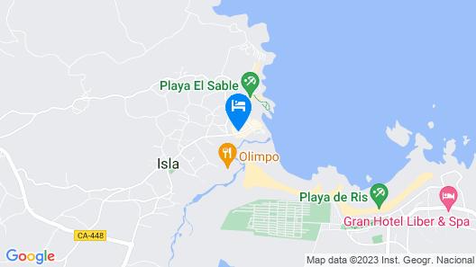 Hotel Isla Bella Map