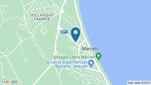 Hotel Residence Il Conero 2 Map