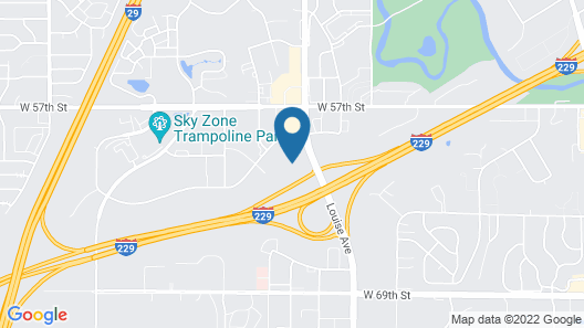 Hilton Garden Inn Sioux Falls South Map