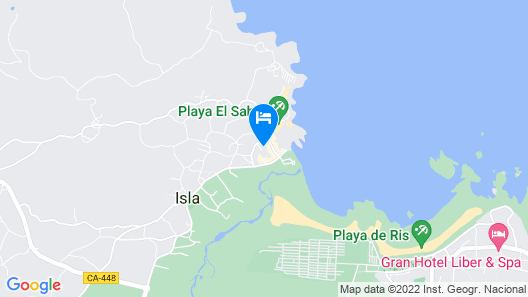 Apartment - 2 Bedrooms with Pool and Sea views - 103306 Map