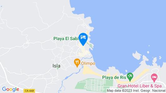 Hotel Alfar Map