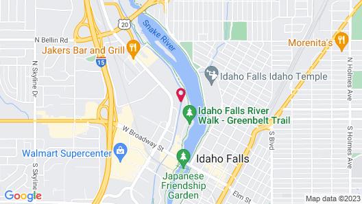 Tru by Hilton Idaho Falls Map