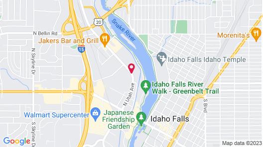 Hilton Garden Inn Idaho Falls Map